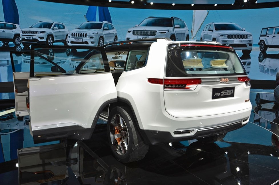 2021 Jeep Grand Wagoneer Exterior Changes