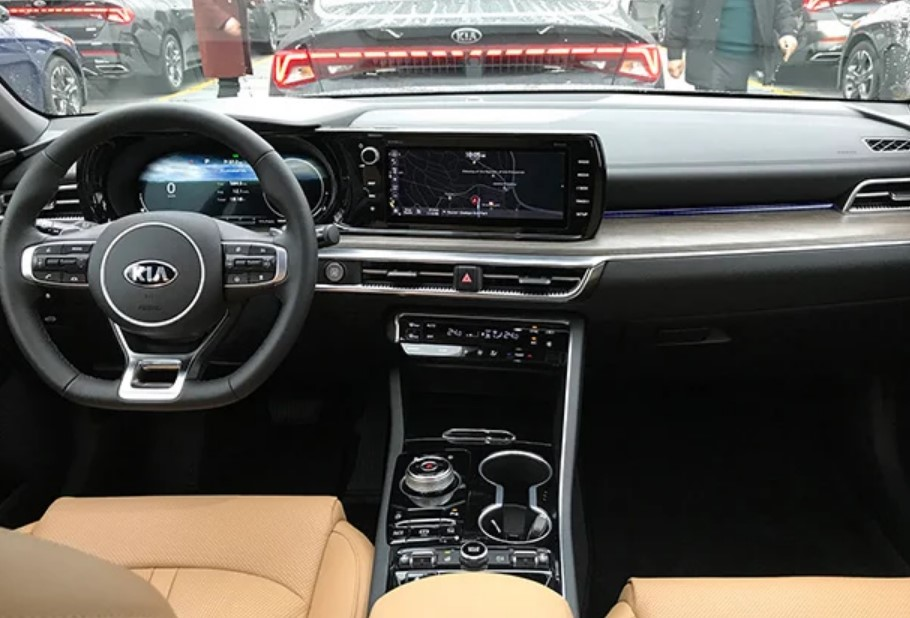 New 2021 Kia Optima Redesign Interior